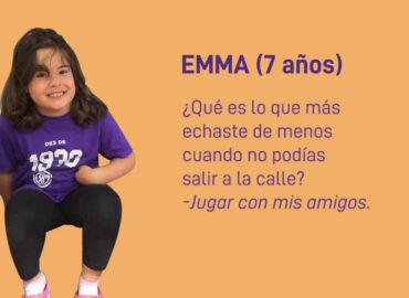La infancia durante el confinamiento. Entrevistas de Cristina Sahuquillo